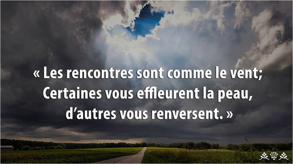 Citation rencontres inattendues